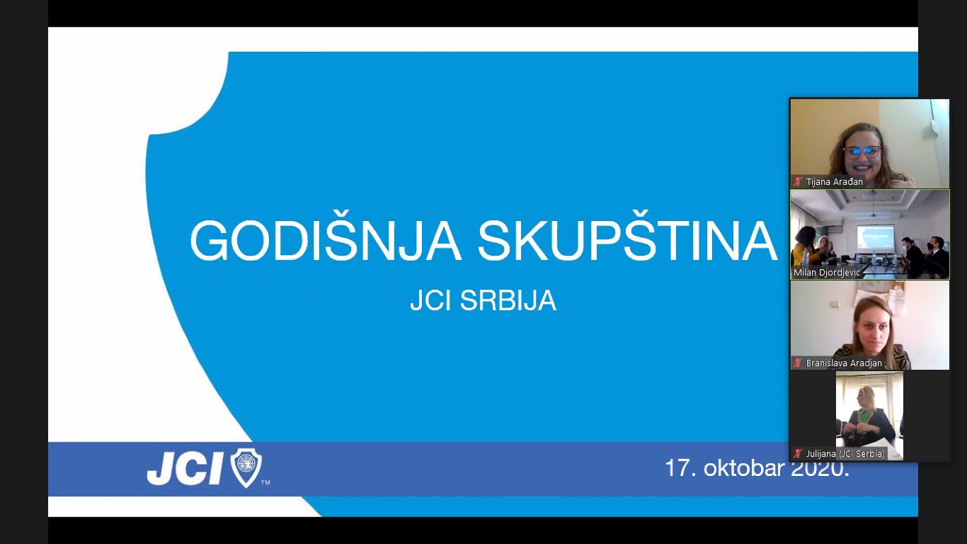 Održana je Godišnja Skupština JCI Srbije za 2020. godinu