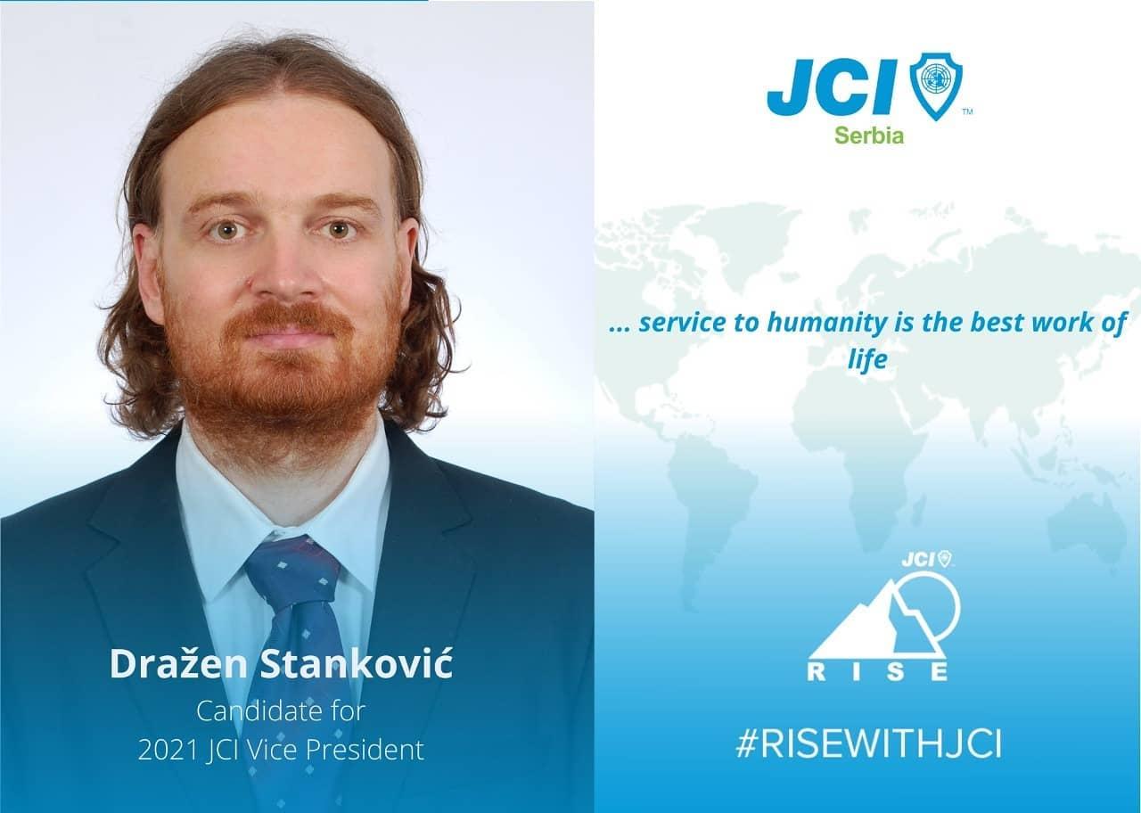 Dražen Stanković – Kandidat za JCI Potpredsednika