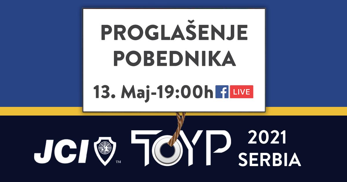 Proglešenje TOYP 2021 pobednika